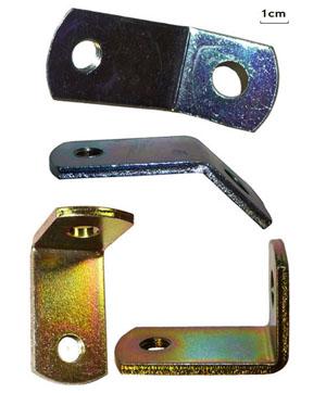 Coudes de fixation pour vos ceintures (à 45° et 90°)