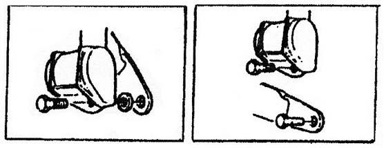 Schema de fixation des enrouleurs