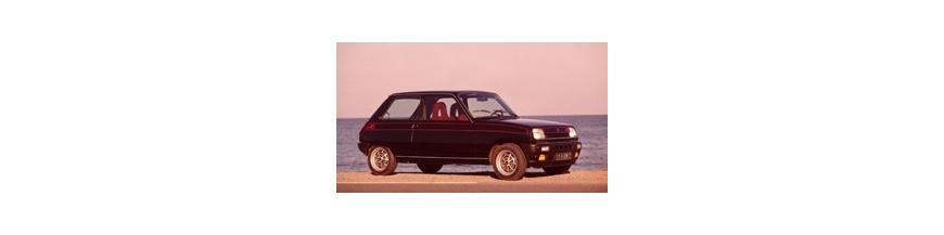 Ceinture de sécurité avant et arrière pour Renault R5 avant 1981