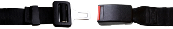 bandeau boucle de ceinture de sécurité